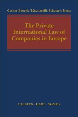 The Private International Law of Companies in Europe image