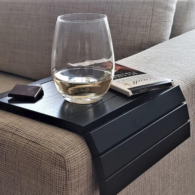 Slinky Sofa Table - Black