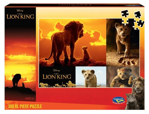 Holdson XL: 300 Piece Puzzle - Lion King (Future King)