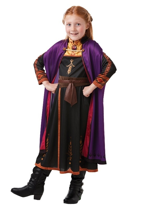 Disney's Frozen 2: Anna - Travelling Dress (6-8 Years)