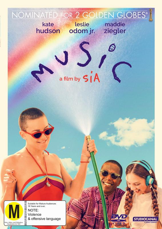 Music (2021) on DVD