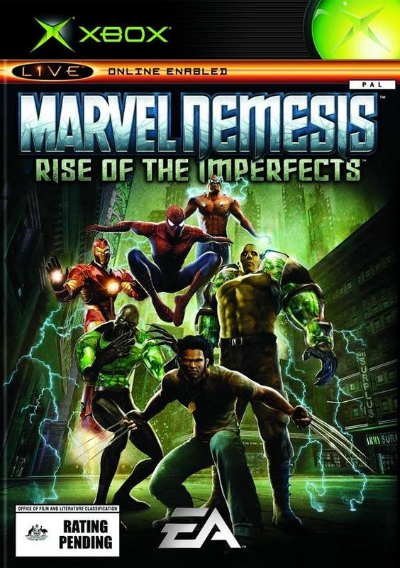 Marvel Nemesis: Rise of the Imperfects for Xbox