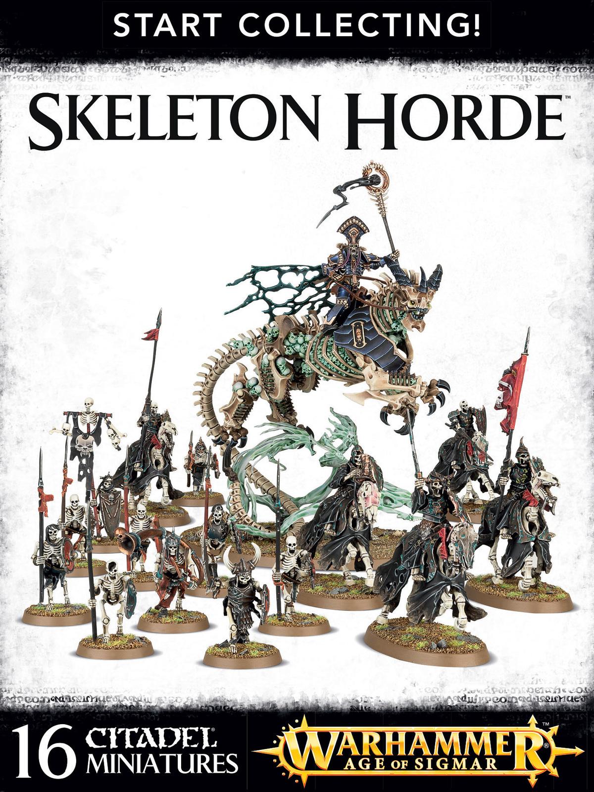 Warhammer Start Collecting: Skeleton Horde image