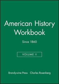American History Workbook: v. 2 by Charles Rosenberg image