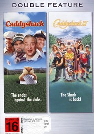 Caddyshack / Caddyshack 2 - Double Feature (2 Disc Set) on DVD image