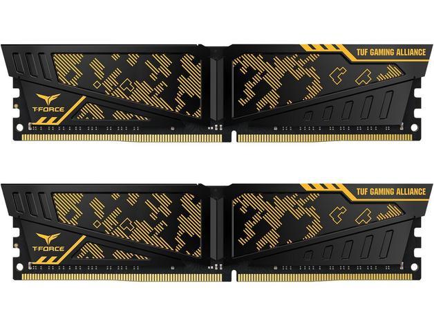 2x8GB Team VULCAN TUF Gaming Alliance 3600MHz DDR4 Gaming RAM
