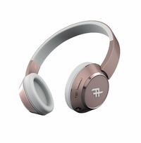iFrogz: Coda Wireless Bluetooth Headphones With Mic - Rose Gold