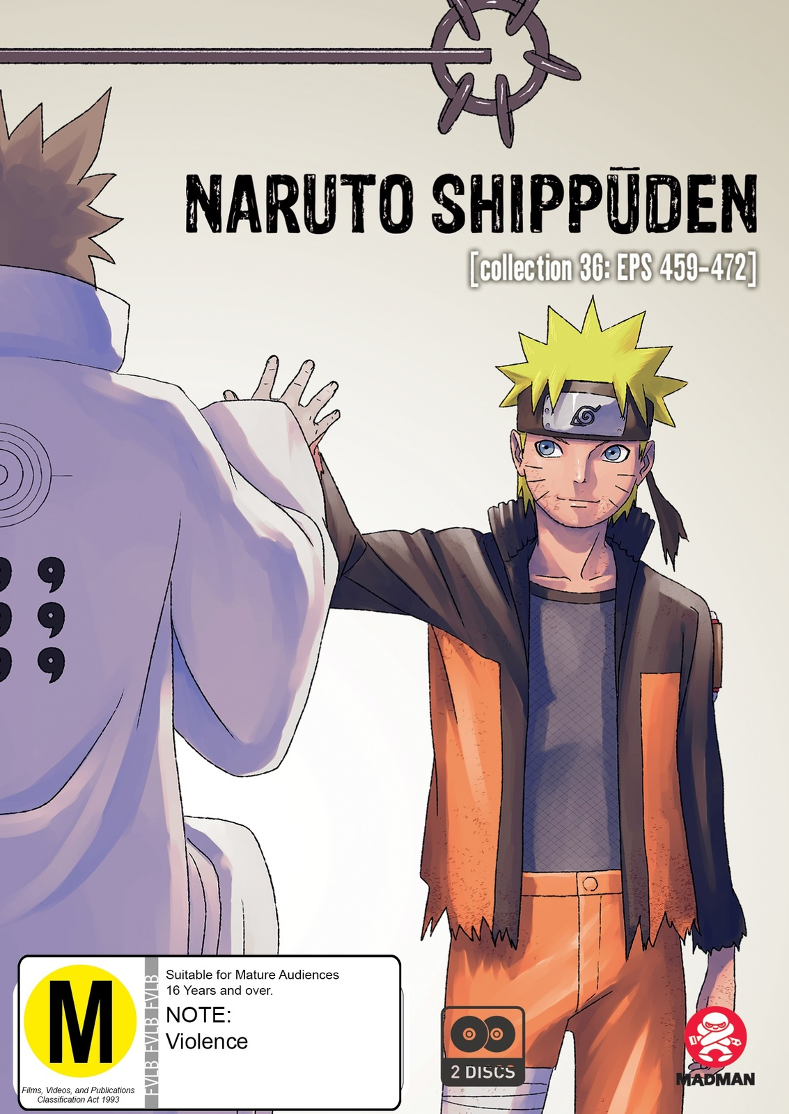 Naruto Shippuden: Collection 36 (eps 459-472) on DVD image