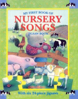My First Book of Nursery Songs Jigsaw Book image