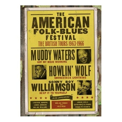 American Folk-Blues Festival: The British Tours 1963-1966 on DVD