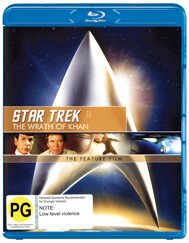 Star Trek II: The Wrath of Khan - The Feature Film on Blu-ray