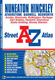 Nuneaton Street Atlas by Geographers A-Z Map Company