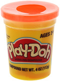 Play Doh Single Tub - Neon Orange