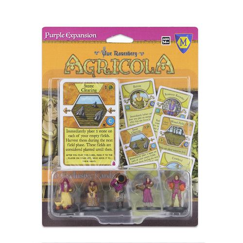 Agricola: Game Piece Expansion - Purple image