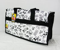 Mickey mouse 90th Anniversary: Big Travelling Bag - White
