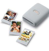 Fujifilm Instax Mini Link Photo Printer - Ash White
