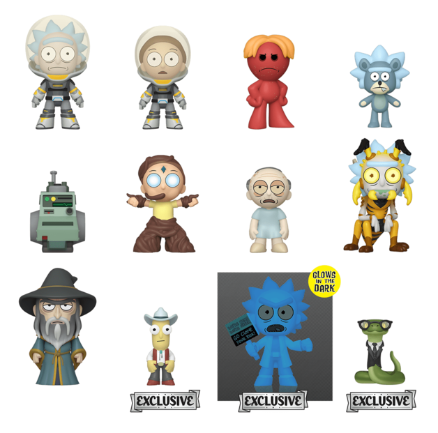 Rick and Morty: Series 4 - Mystery Minis Figure - [HT Ver.] (Blind Box)