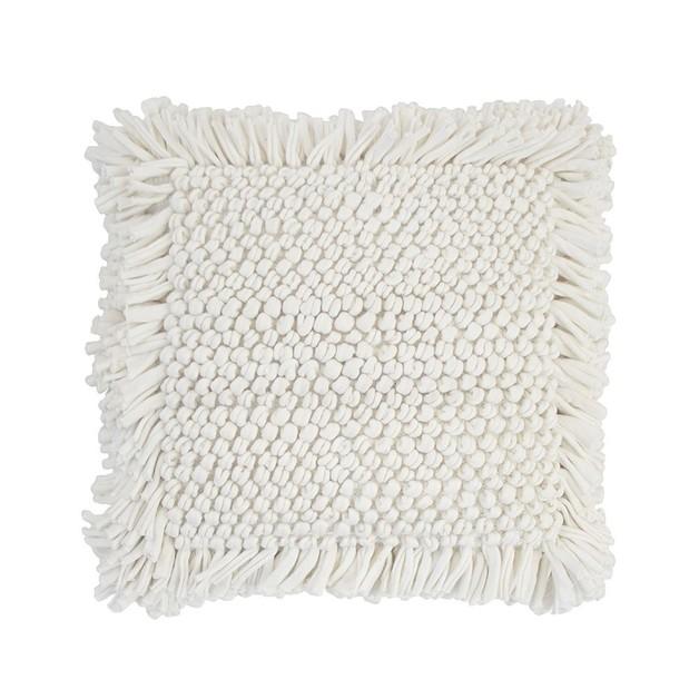Bambury: Hamersley Cushion - Ivory