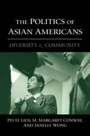 The Politics of Asian Americans by Pei-Te Lien image