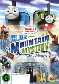 Thomas & Friends CGI Movie: Blue Mountain Mystery on DVD