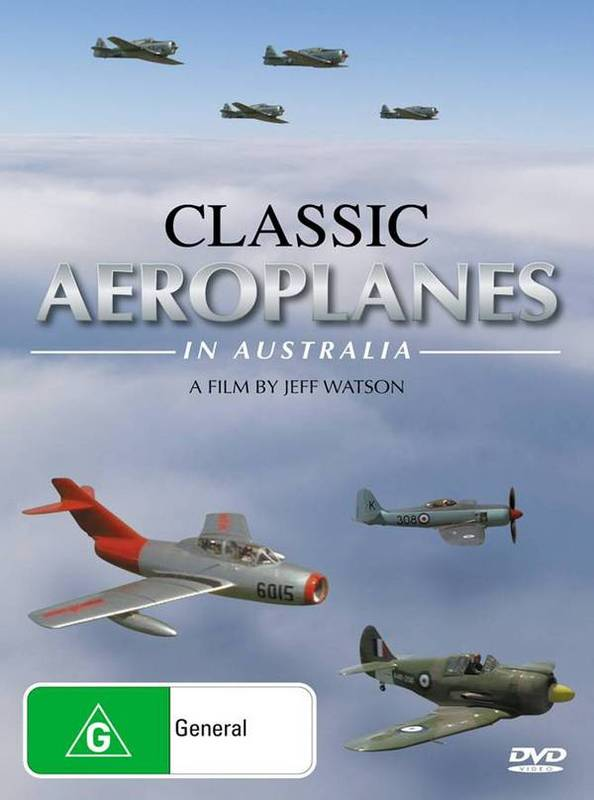Classic Aeroplanes In Australia on DVD
