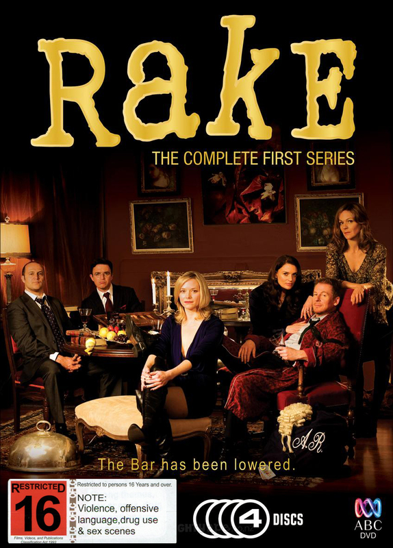 Rake: The Complete First Series on DVD