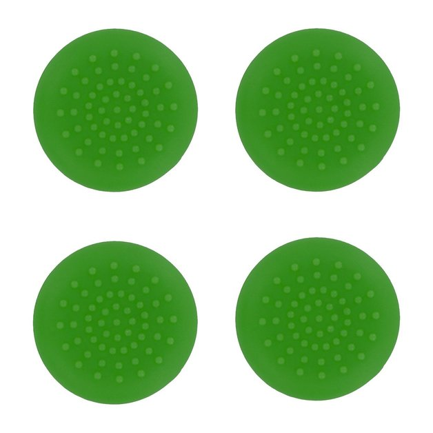 PS4 TPU Thumb Grips - Green for PS4