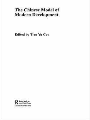 The Chinese Model of Modern Development image