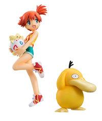 Pokemon: G.E.M. Misty, Togepi, & Psyduck