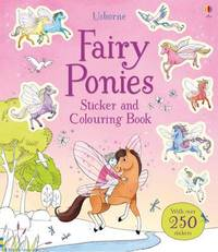 Fairy Ponies Sticker and Colouring Book by Lesley Sims