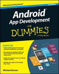 Android App Development For Dummies by Michael Burton