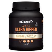 Balance Ultra Ripped Naturals Whey Protein - Vanilla (750g)
