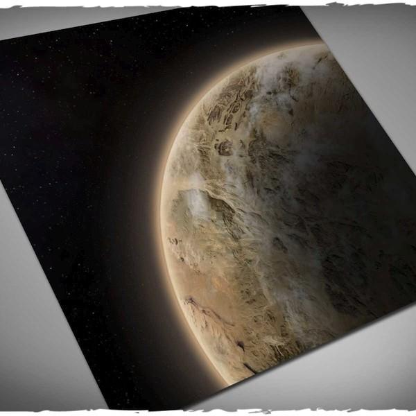 Deep Cut Studio: Dunes Planet Neoprene Mat (3x3)