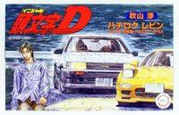 Fujimi 1/24 Toyota AE86 Levin Akiyama Wataru Initial D - Model Kit