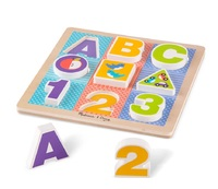 Melissa & Doug: ABC/ 123 - Chunky Puzzle