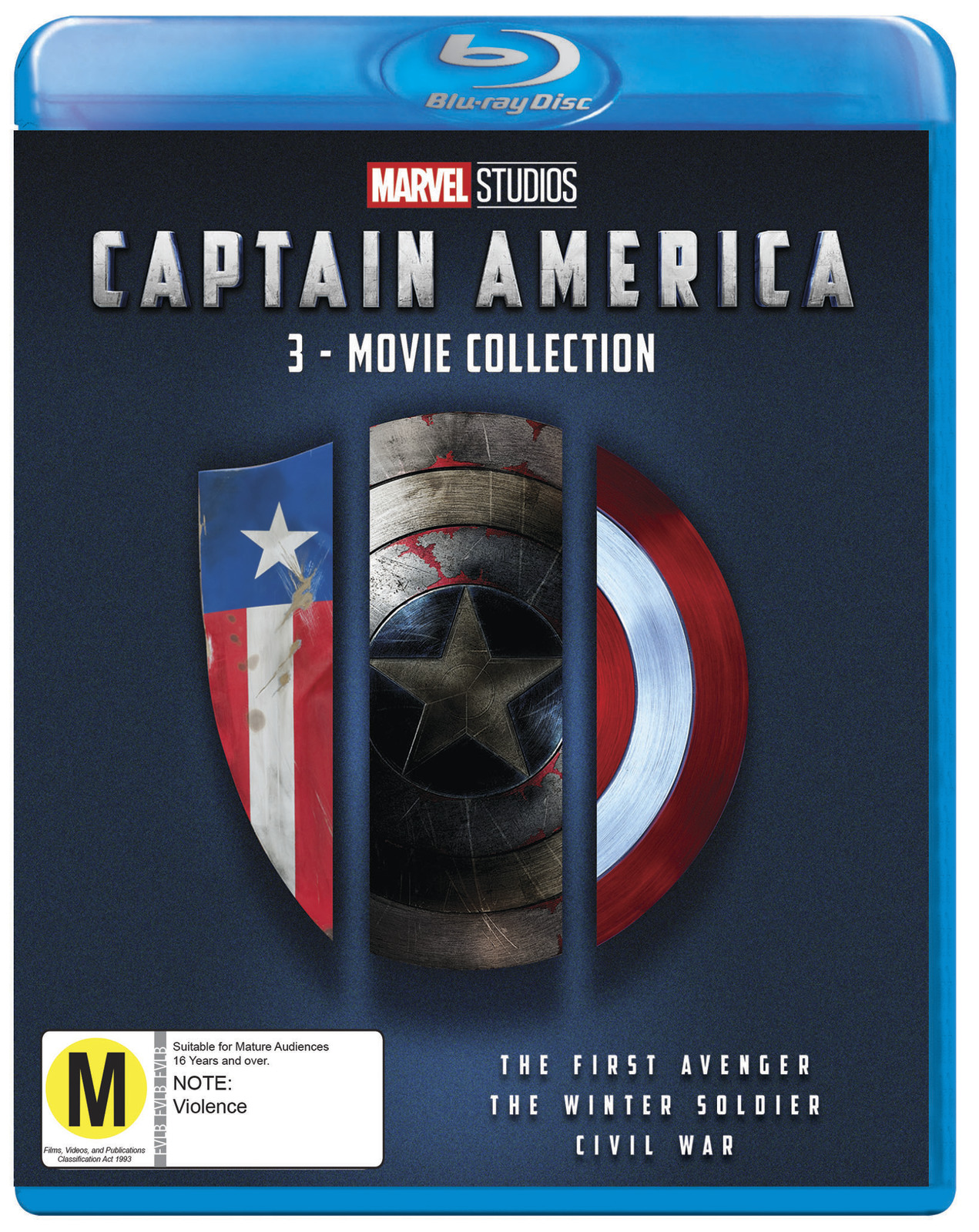 Captain America: 3 Movie Collection on Blu-ray image