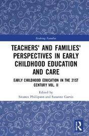 Teachers' and Families' Perspectives in Early Childhood Education and Care image