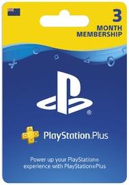 PlayStation Plus 3 Month Membership (Digital Code) for PS4