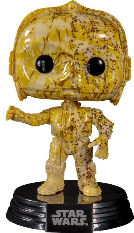Star Wars - C-3PO (Futura) Pop! Vinyl Figure + Protector