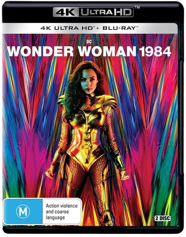 Wonder Woman 1984 (4K UHD + Blu-Ray) on UHD Blu-ray