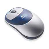 Logitech Cordless Optical Mouse With Receiver for PC Games
