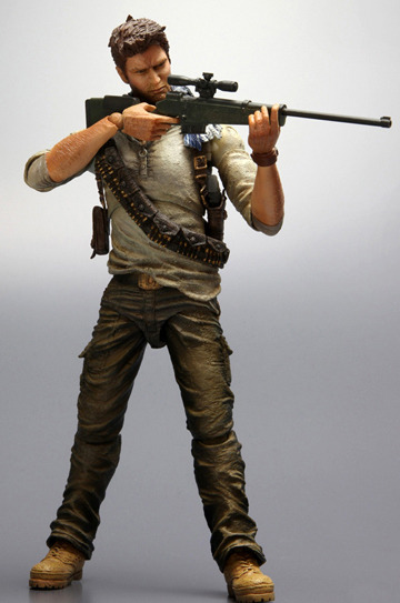Uncharted 3 Play Arts Kai Action Figure - Nathan Drake images, Image 1 of 7