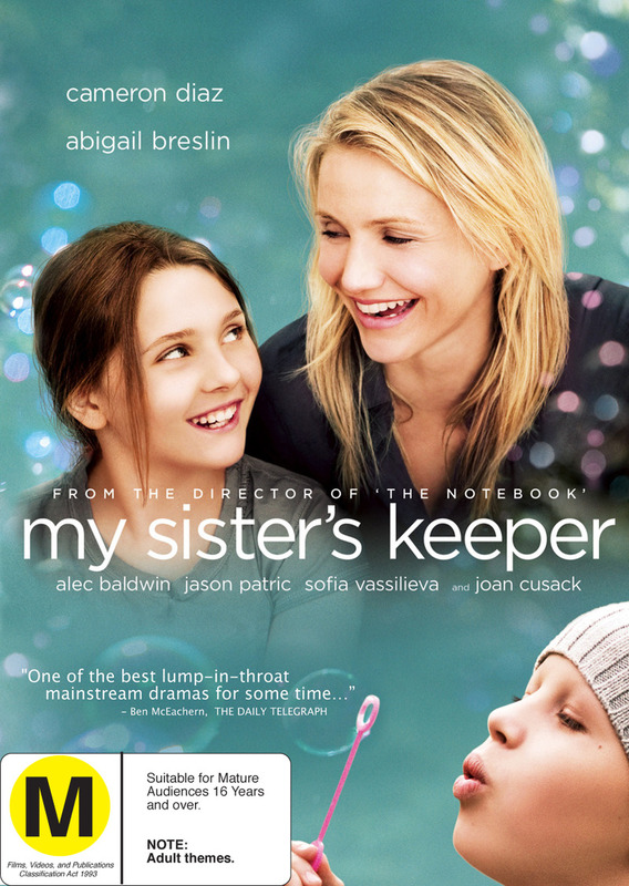 My Sister's Keeper on DVD