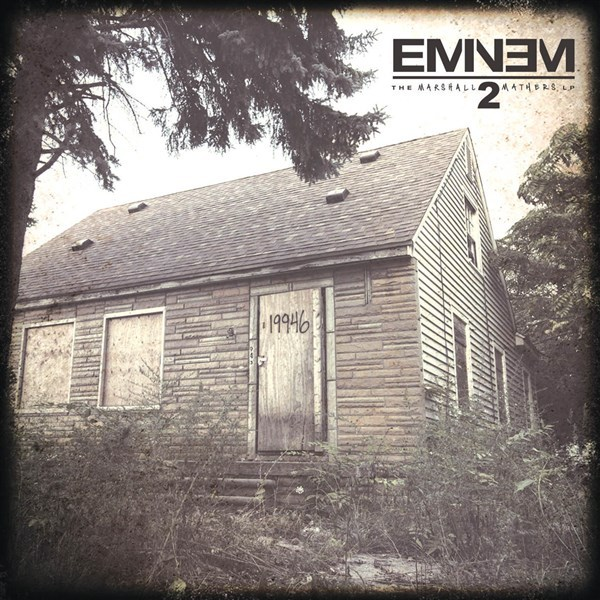 The Marshall Mathers LP 2 by Eminem image