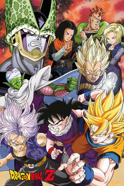 Dragon Ball Z: Maxi Poster - Cell Saga (455)