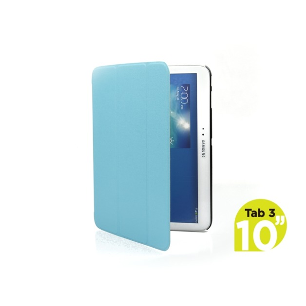 mbeat Samsung Galaxy Tab 3, 10 inch Ultra Slim Triple Fold Case Cover - Blue