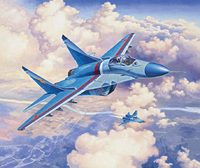 Revell 1:72 MiG-29S Fulcrum Plastic Model Kit