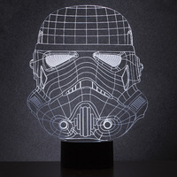 Star Wars: Original Stormtrooper Wireframe Light