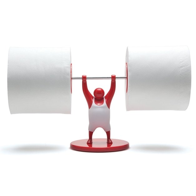 Monkey Business: Mr T Roll Holder (Red)