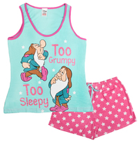 Disney: Snow White Summer (Grumpy) - Women's Pyjamas (12-14)